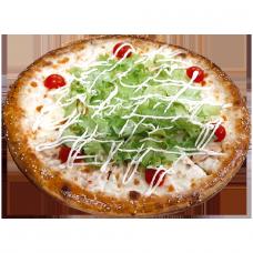 "Пицца ""Цезарь с креветками"""